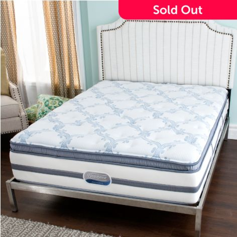 Beautyrest Recharge Stars Stripes Plush Pillowtop Mattress Evine