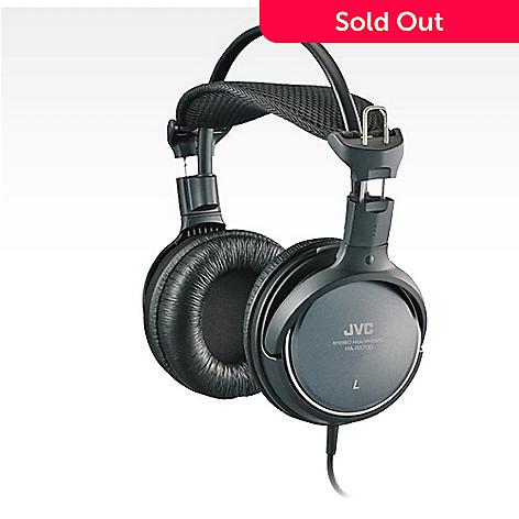 e16372115e6447 450-181- JVC Full-Size Over-Ear Headphones w/ 50mm Drivers