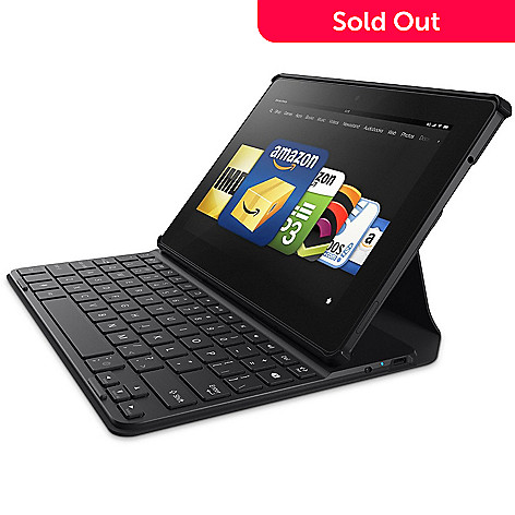 Kindle Fire HDX Quad-Core Bluetooth® Tablet w/ Mayday Button & Belkin  Keyboard