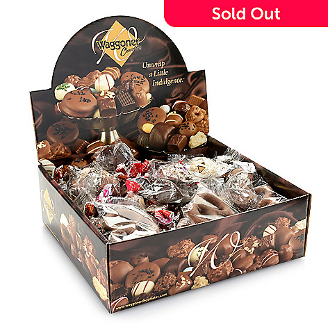 Waggoner Chocolates 4 lb Individually Wrapped Flavored Chocolate Assortment
