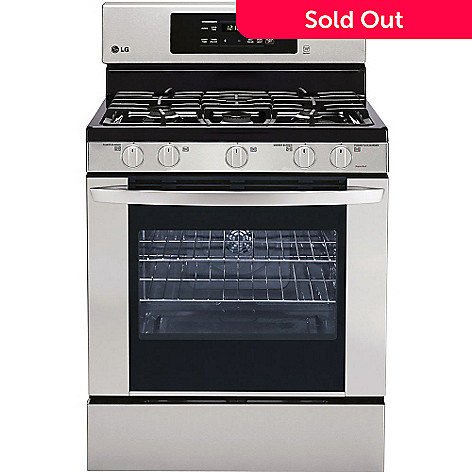 Gas Cooktop And Oven