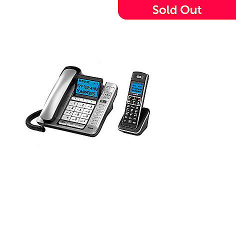 RCA Corded/Cordless Combo Phone w/ Integrated Answering System