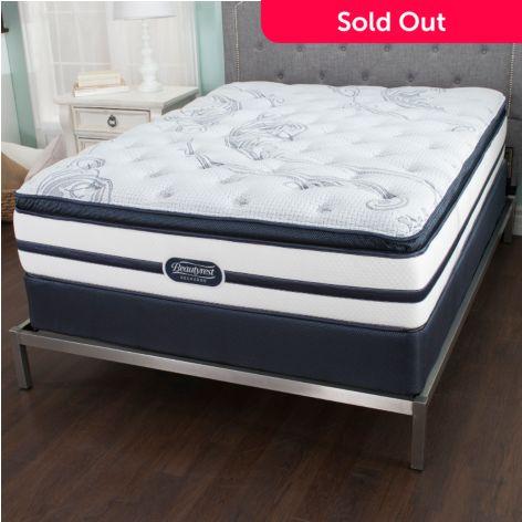 Beautyrest Recharge Tortuga Bay Plush Pillowtop Mattress Set Evine