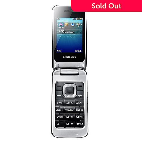 Samsung Quad-Band Unlocked GSM Flip Cell Phone - EVINE
