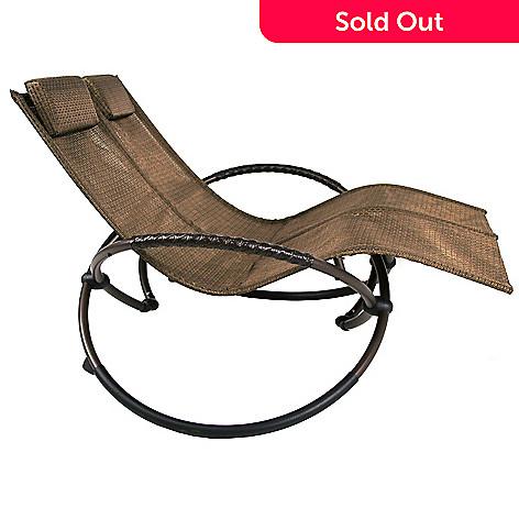 455 364 Orbital Folding Double Lounge Chair W Pillows