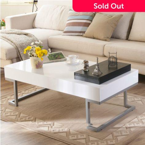 Sensational Furniture Of America 47 Stefan Modern Coffee Table Inzonedesignstudio Interior Chair Design Inzonedesignstudiocom