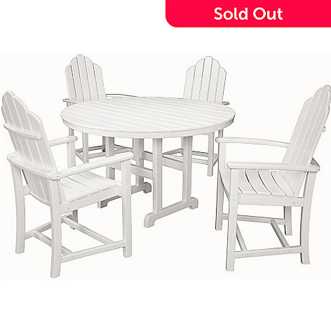 457-239- Hanover Outdoor Furniture Five-Piece All-Weather Siesta Key Dining - Hanover Outdoor Furniture Five-Piece All-Weather Siesta Key Dining