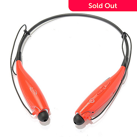 4a14b37bfc9 458-034- iLive Around-the-Neck Bluetooth Wireless In-Ear Headphones