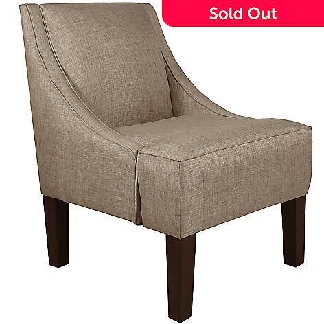 458 069 Skyline Furniture 34 Groupie Swoop Arm Accent Chair