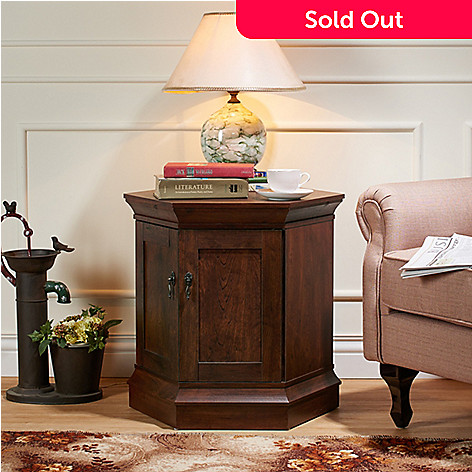 Furniture Of America Titian SixSided End Table W Storage EVINE - Six sided table