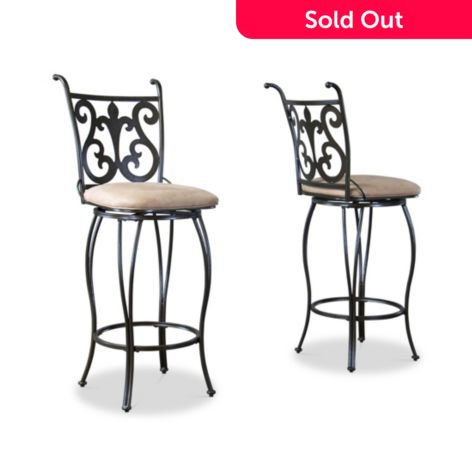 Enjoyable Baxton Studio Set Of Two 46 75 Lyre Metal Transitional Bar Stools Gmtry Best Dining Table And Chair Ideas Images Gmtryco