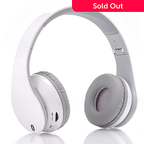 a92ca9ca343 iLive On-Ear Bluetooth Wireless Headphones w/ Built-in Microphone ...