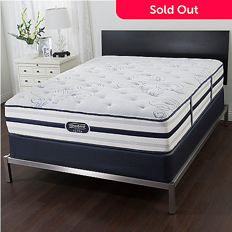 458 733 simmons beautyrest recharge ultra stoneheath plush tight top mattress set - Simmons Beautyrest Mattress