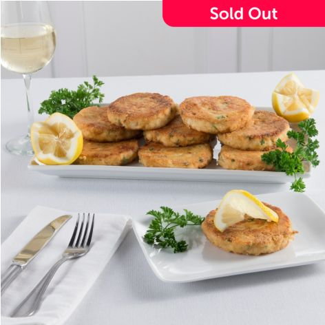Pre-Cooked Cod Fish Cakes