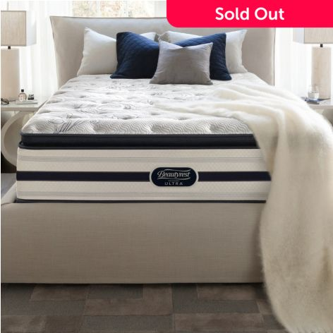 Simmons Beautyrest Recharge Ultra Stoneheath Plush Pillow Top