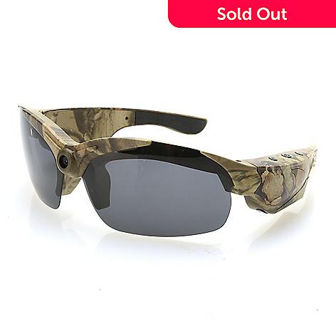 0fda3bf62f0 459-621- ProVision 1080 HD Bluetooth Video Camera Polarized Sunglasses w/  Case &