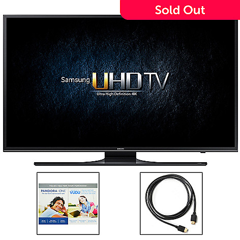 Samsung 4k Uhd Choice Of Size Smart Led Tv W Motion Rate 120 2nd Year Warranty Shophq