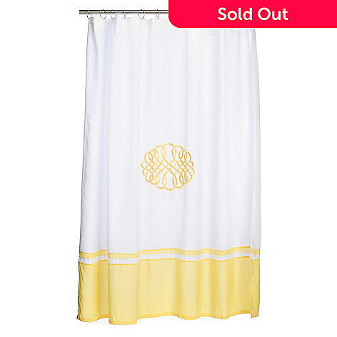 461 296 Paula Deen Home Augusta Microfiber Shower Curtain