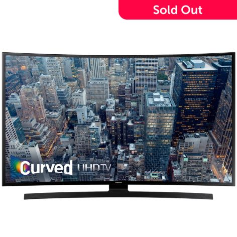 Samsung 4K UHD Curved Smart LED TV w/ Voice Remote & 2nd Year Warranty