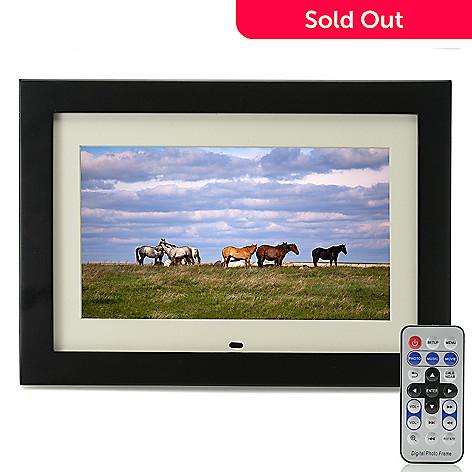 Aluratek 10 4gb Digital Photo Frame W Remote Control Evine
