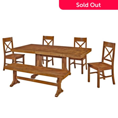 Phenomenal Walker Edison Antique Style Choice Of Five Piece Dining Set Gmtry Best Dining Table And Chair Ideas Images Gmtryco