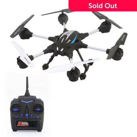 Riviera RC Pathfinder Hexacopter Drone w/ Wi-Fi & Built-in Camera