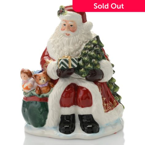 Waterford Holiday Heirlooms Gifts From Santa Hand Painted Ceramic
