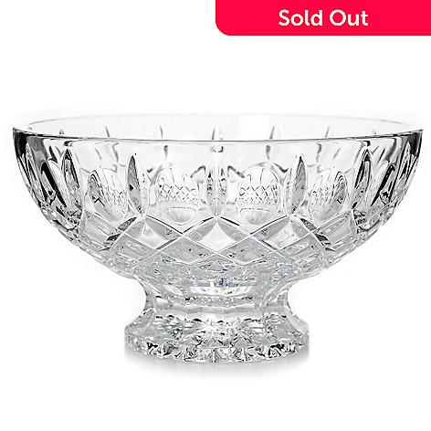 waterford crystal merrilee 6 5 thumbprint wedge cut footed bowl