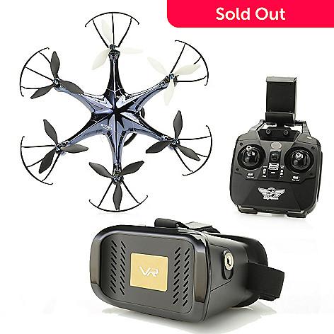 464 795 Sky Rider Eagle Pro Drone W Wi Fi Camera