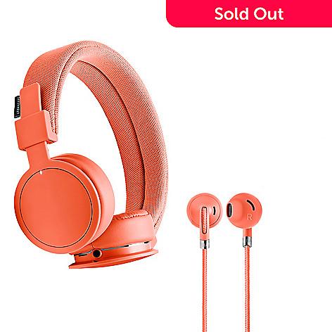 46255778f6ad21 467-581- UrbanEars Bluetooth Wireless On-Ear Headphones & Wired In-Ear