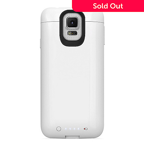 more photos 9b852 17c9d Mophie Juice Pack Battery Charging Cell Phone Case for Samsung Galaxy S5