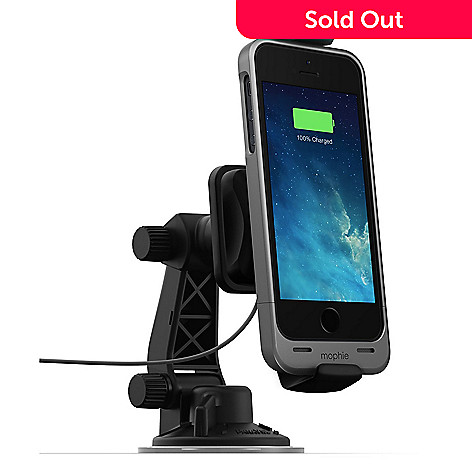 the best attitude a2932 f2af1 Mophie Juice Pack Car Dock for iPhone 5 / 5s / SE