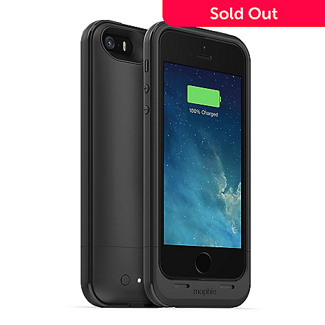 online store 91b39 9f711 Mophie 2100 mAh Juice Pack Plus Charging Case for iPhone 5 / 5s / SE ...