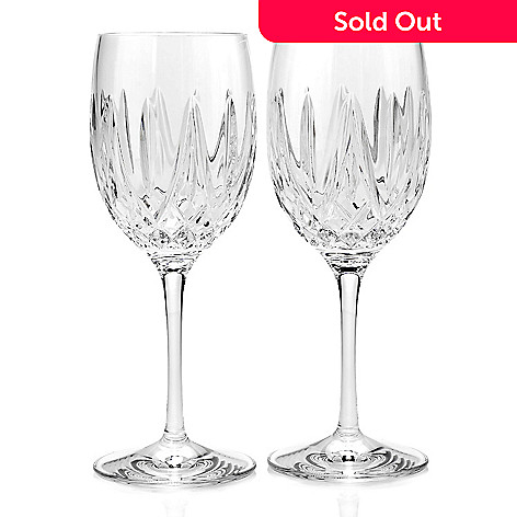 Waterford Crystal Fitzgerald Choice Of Wedge Cut Wine Glasses Evine