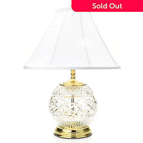469 208 Waterford Crystal Book Of Kells 23 Double Lit Table Lamp W