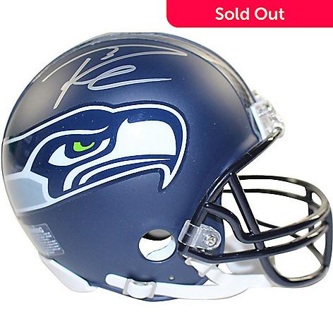 f9ee7d36e97 470-321- Signature Sports Memorabilia Authenticated Russell Wilson Seattle  Seahawks Signed Mini Helmet