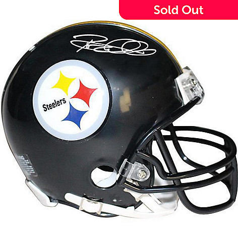 ecfbe3285 470-324- Steiner Sports Memorabilia Rod Woodson Pittsburgh Steelers Signed  Mini Replica Helmet