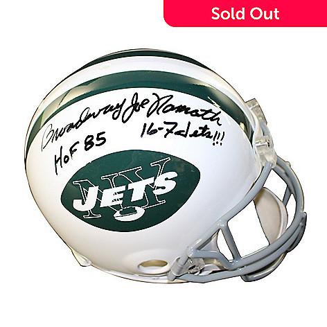 470-639- Steiner Sports Memorabilia Joe Namath Jets Authentic Throwback  65-77 Signed 2332b4dd2