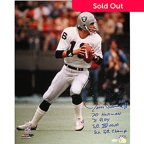 868e68b0 Steiner Sports Memorabilia Jim Plunkett 16