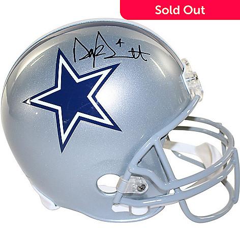 ebb7e1c8f7c 470-646- Steiner Sports Memorabilia Dak Prescott Dallas Cowboys Signed Full  Size Replica Helmet