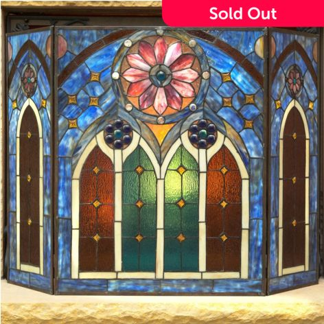 Tiffany Style 27 5 European Inspired Cathedral Stained Glass