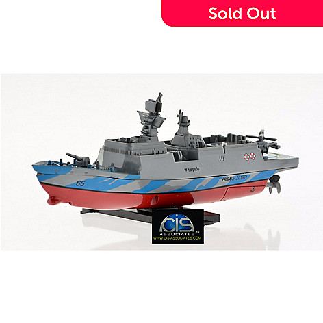 Creative Toys 2 4GHz RC Battleship Destroyer or Aircraft Carrier w/ 2 4Ghz  Remote Control