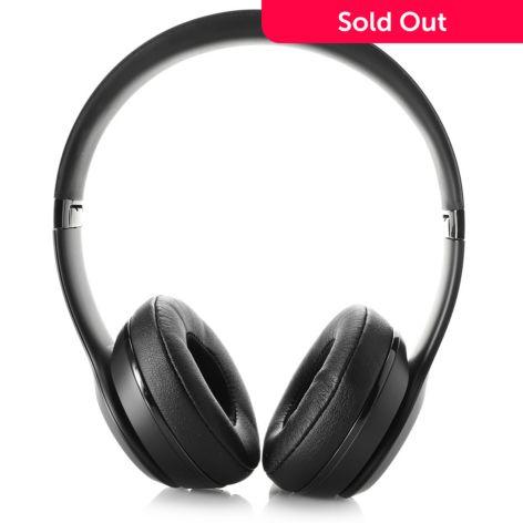Beats by Dr  Dre, Solo 3, Bluetooth Wireless, On-Ear Headphones, w/  Built-in Mic