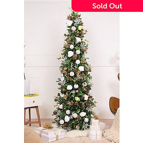 475-569- Easy Treezy Choice of Assorted Metallic Decor Kit w/ 150 Ornaments