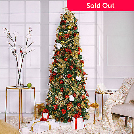 Easy Treezy Choice Of 7 5 Ft Pre Lit Artificial Christmas Tree