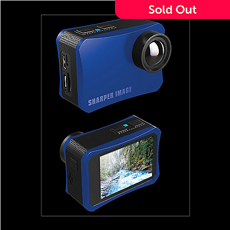 Sharper Image 4k Uhd Action Camera W Accessory Kit Evine
