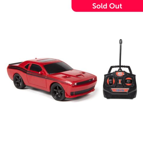 World Tech Toys Choice Of 1 24 Scale Dodge Challenger Rc Car W