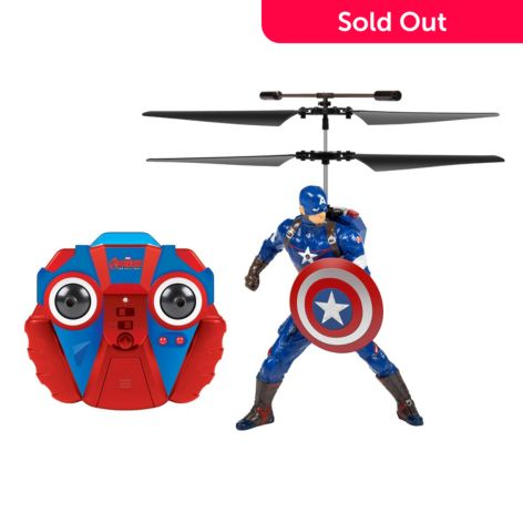 World Tech Toys Marvel Avengers Captain America 2ch Ir Rc Helicopter W Remote
