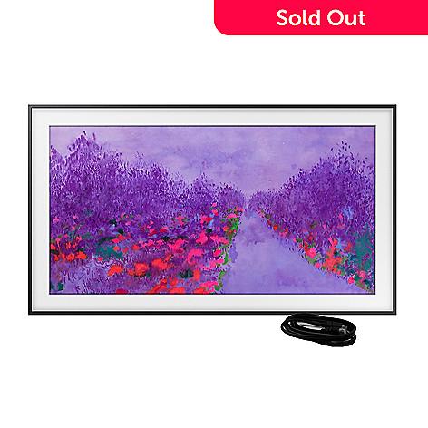 Samsung, The Frame Premium, 4K UHD Smart TV, w/ Voice Remote, & 2-Year  Warranty
