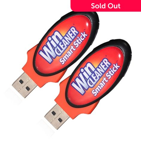 WinCleaner Set of, 2 SmartStick USB, Cleaning Devices, for Windows, Mac, &  Chromebook